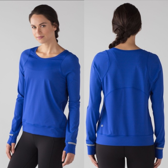 Lululemon Mind Over Miles Running Long Sleeve Top